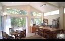 Casa Cedro Great Living Room of Pofitable Costa Rica Residential Riverside Residences for Sale