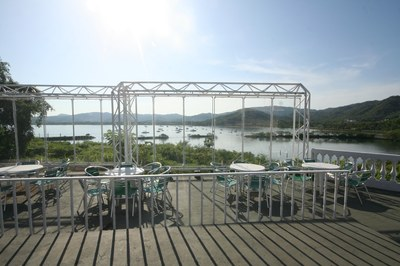 Exterior View of Marina of Amberes Casino Restaurant Bar and Disco for Sale in Costa Rica