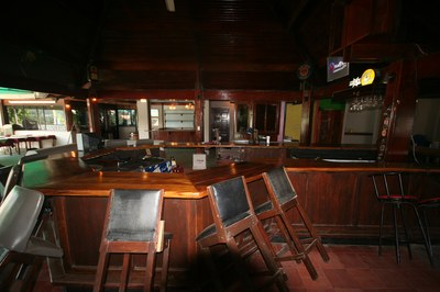 Bar of Amberes Casino Restaurant Bar and Disco for Sale in Costa Rica
