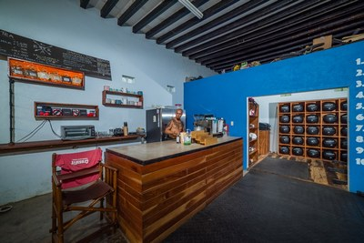 Crossfit Surfside - Coffee Shop Area