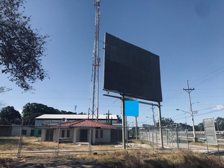 Commercial property in front of the Mall in Liberia
