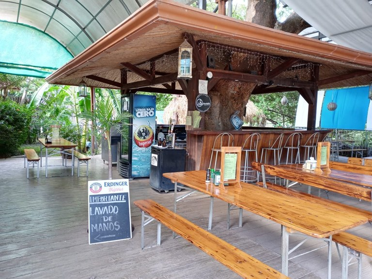 Bakery and Restaurant Biergarten: Turnkey Business for Sale Located in Front of Liberia Airport