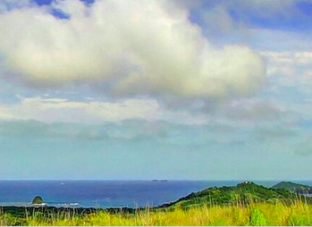 Straight Partial Ocean View from Land in Mar Visga For Sale