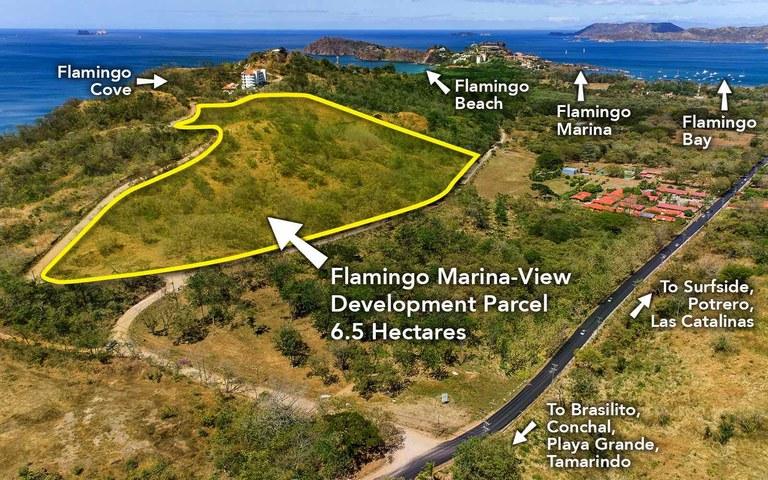 Development Property with Marina and Ocean Views: Flamingo Beach South Ridge