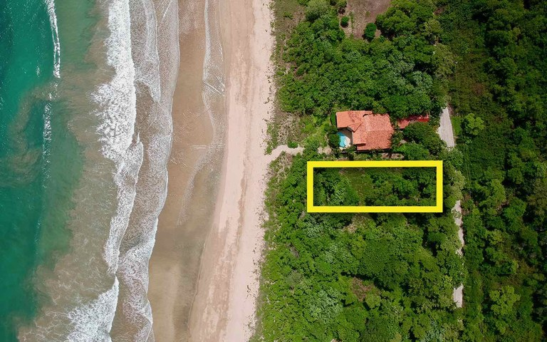 Playa Ventanas Lot #37: Ocean Front Tranquility & Seclusion