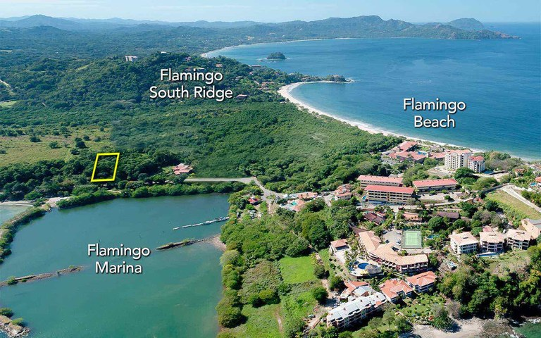 Flamingo Marina Frontage Lot: A Prime Location to Build In The Path of Progress