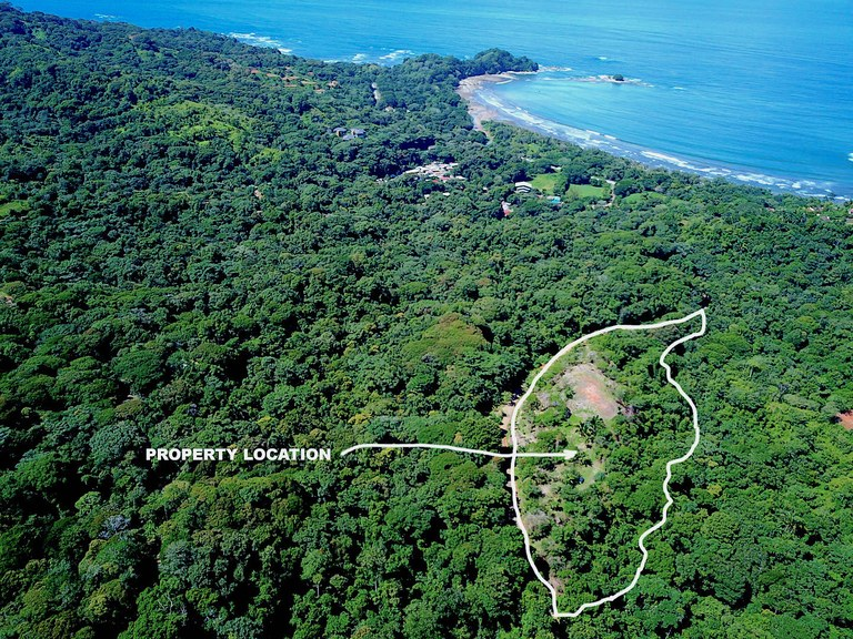 Harbor Hills Dominicalito Bay View: Mountain Home Construction Site For Sale in Dominicalito