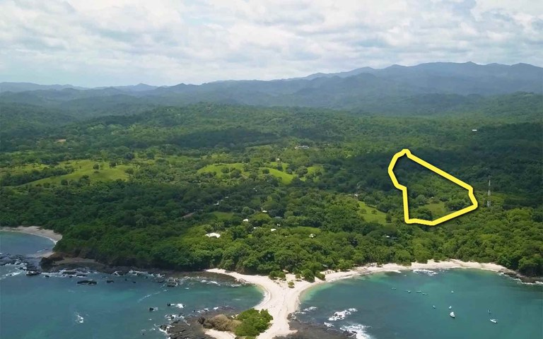 San Juanillo Development Land: A Prime, Hill Side, Ocean-View Parcel For Sale on The Gold Coast of Guanacaste