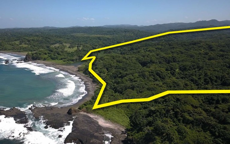 San Juanillo Beachfront: 10.4 Hectares of TITLED Beachfront Property For Sale