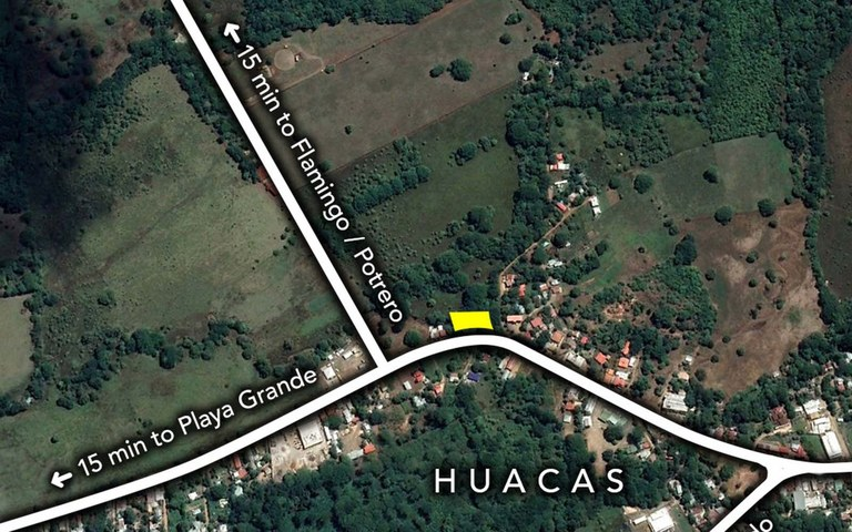 Huacas Commercial Land: PRICE REDUCED - Prime Road-Front Location at a Major Guanacaste Cross-Roads