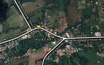 Huacas Map