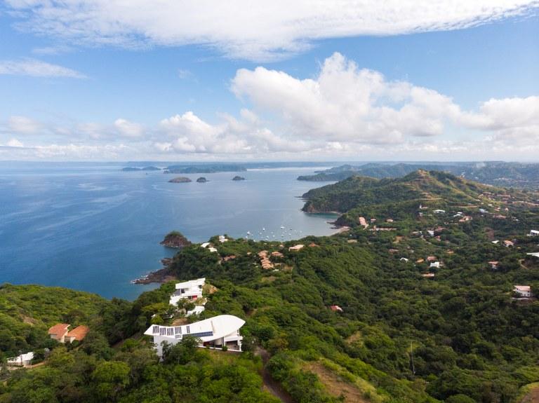 Azul Paraiso Upper Lot: Prime Ocean View Land close to Playa Del Coco