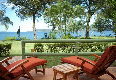 Patio of Rental Home in Playa Flamingo, Guanacaste