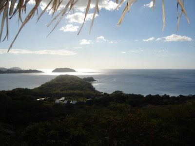 Mountain View over Landscape from House for Rent in Playa Prieta, Guanacaste