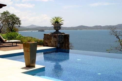 Castello Pacifico: Ocean-View Villa For Rent in Playa Flamingo