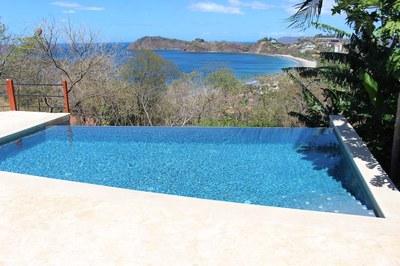 Pool to Ocean View Casa Mega Flamingo Beach Rental Community Infinity Pool