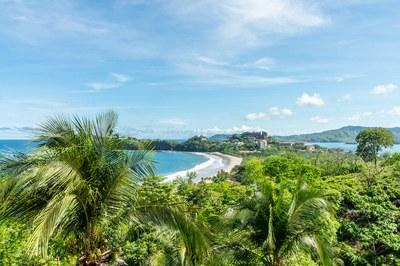 View from Casa Mega Flamingo Beach Cliff Side Ocean View Rental
