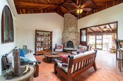 Interior Living Room Casa Mega