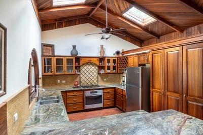 Kitchen of Casa Mega Flamingo Beach Cliff Side Ocean View Rental