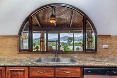Kitchen to Ocean View