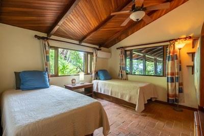 Second Bedroom of Casa Mega Flamingo Beach Cliff Side Ocean View Rental
