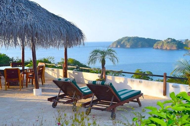 Casa Mega: Ocean View Home for Rent Overlooking Flamingo Beach