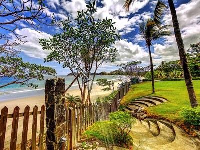 Beachside Fresh Water Shower