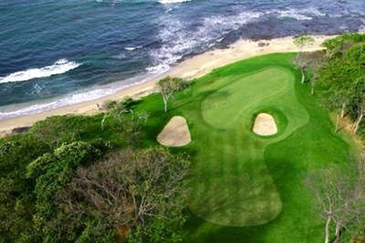 Hacienda Pinilla Golf - Signature Hole on the Pacific
