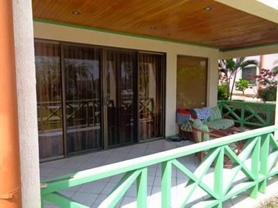 Flamingo Condo Rental-Rear Terrace