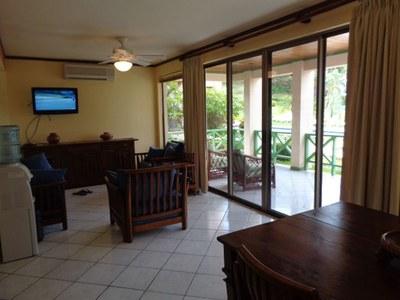 Flamingo Condo Rental-Living Room