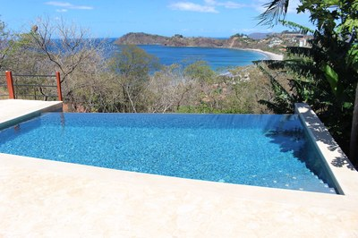 Flamingo Beach Costa Rica Ocean View Rental Infinity Pool Ocean View