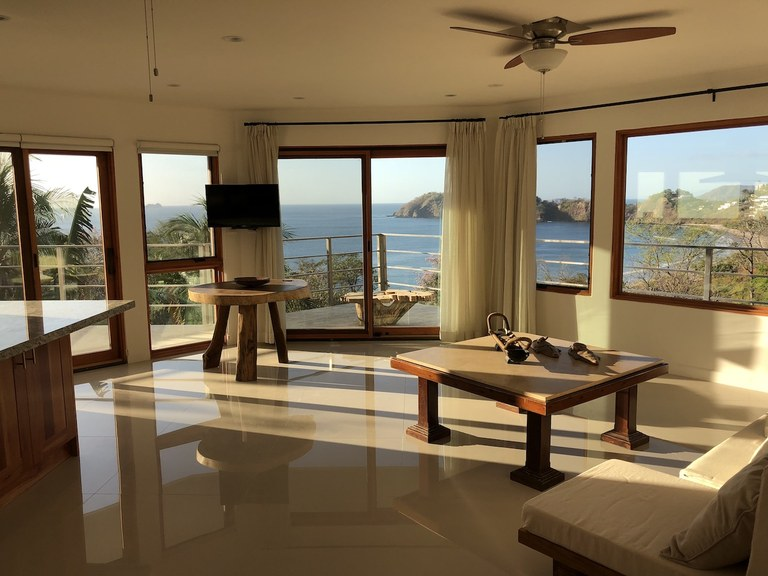Casa Jungle I: Brand New Ocean View Luxury Rental Home in Flamingo Beach