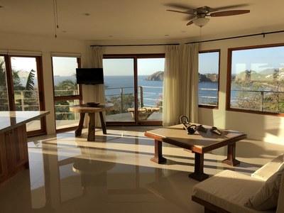 Casa Jungle II Flamingo Beach View Rental Costa Rica Living Room.JPG