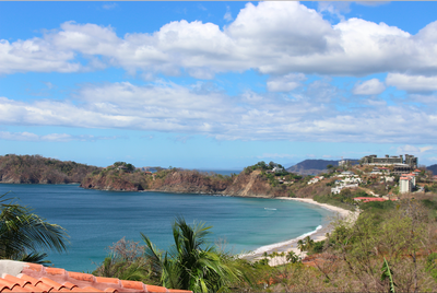 Ocean View From Casa Jungle Flamingo Beach Costa Rica Luxury Rental