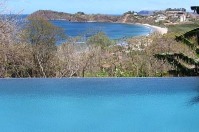 Flamingo Beach Costa Rica Ocean View Rental Infinity Pool to Flamingo Beach View