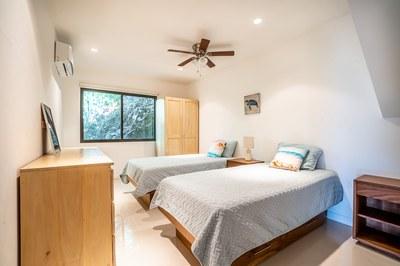 Bedroom 3 of Casa Jungle