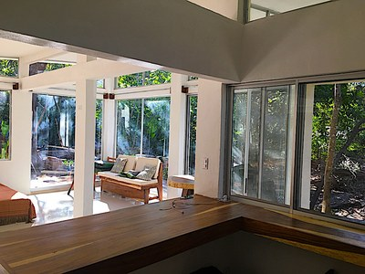 Aqua Apartment - Playa Potrero - Surfside Rental Home View from Kitchen