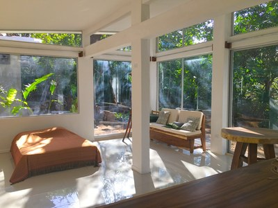 Aqua Apartment - Playa Potrero - Surfside Rental Home Living Room and Dining