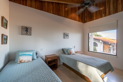 Third Bedroom of Balcony Ocean View of Casa Jungle - Jungle House - Flamingo Beach Costa Rica Luxury Rental