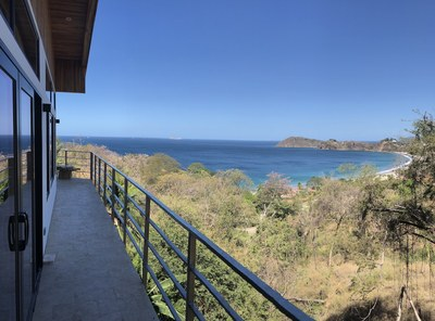 Casa Jungle II Beach and Ocean View Rental in Flamingo Beach Costa Rica North Balcony.jpg