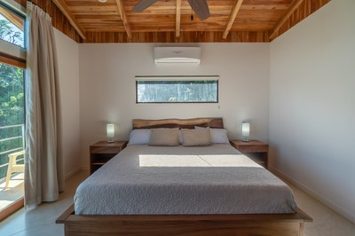 Master Suite Bedroom of Casa Jungle - Jungle House - Flamingo Beach Costa Rica Luxury Rental