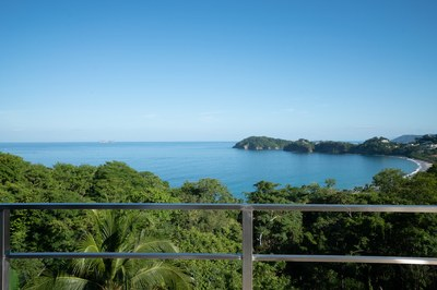 Flamingo Ocean and Beach View from outside deck of Casa Jungle - Jungle House - Flamingo Beach Costa Rica Luxury Rental