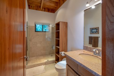 Bathroom of Casa Jungle - Jungle House - Flamingo Beach Costa Rica Luxury Rental