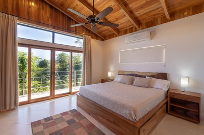 Master Bedroom of Casa Jungle - Jungle House - Flamingo Beach Costa Rica Luxury Rental
