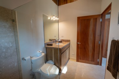 Master Bathroom Interior of Casa Jungle - Jungle House - Flamingo Beach Costa Rica Luxury Rental