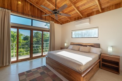 Master Bedroom Interior to Balcony View