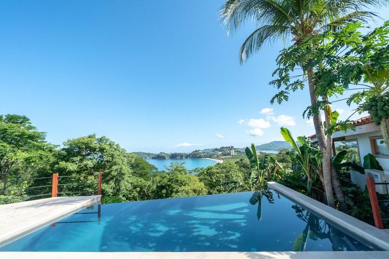 Casa Jungle - Jungle House: 3 Bedroom Flamingo Luxury Beach View Rental