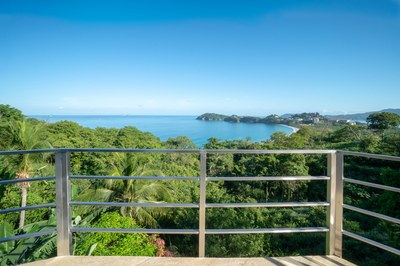 Balcony Ocean View of Casa Jungle - Jungle House - Flamingo Beach Costa Rica Luxury Rental .jpg