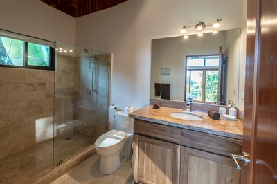 Master Bathroom of Casa Jungle - Jungle House - Flamingo Beach Costa Rica Luxury Rental