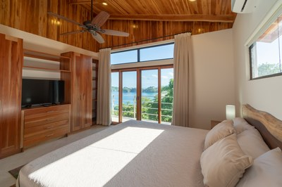 Bed to Ocean View of Casa Jungle - Jungle House - Flamingo Beach Costa Rica Luxury Rental